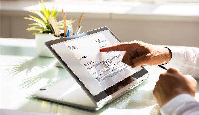 Ръководство как да направим справка за фактури, издадени към нашата фирма за определен период